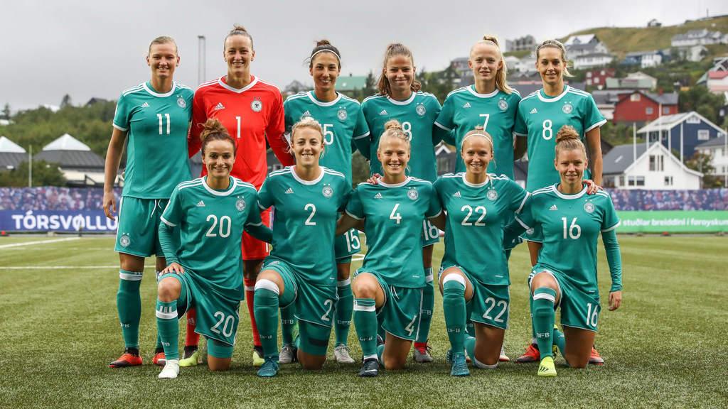 The German Women's national football team