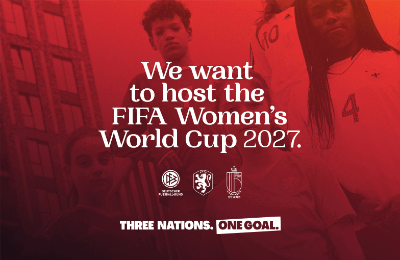 2027 Women's World Cup poster
