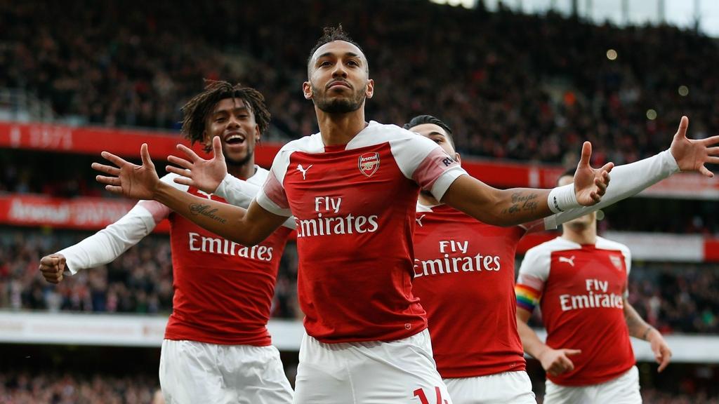 Arsenal winning over Manchester United