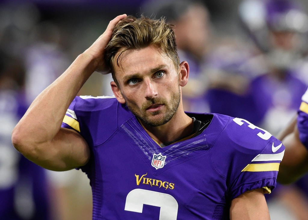 Blair Walsh, Ex-Kicker for the Vikings