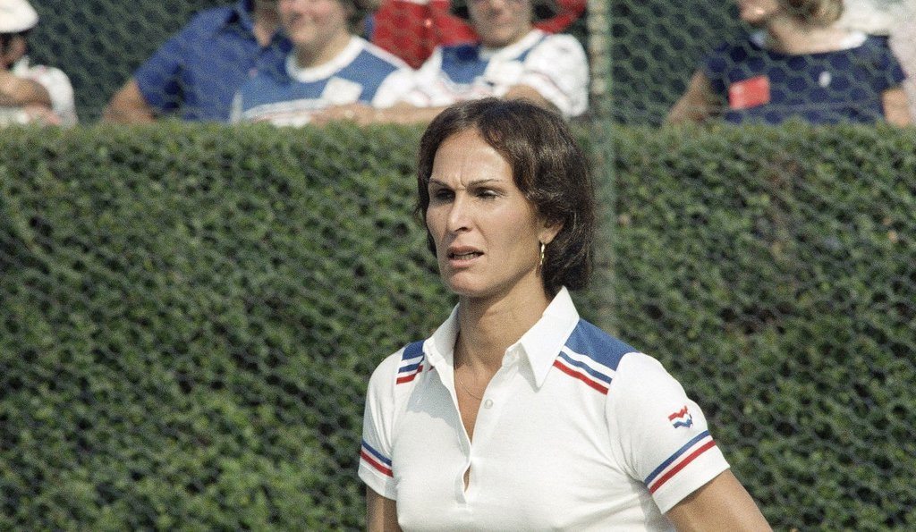 Renée Richards a trans woman tennis player who fought to compete in the US Open