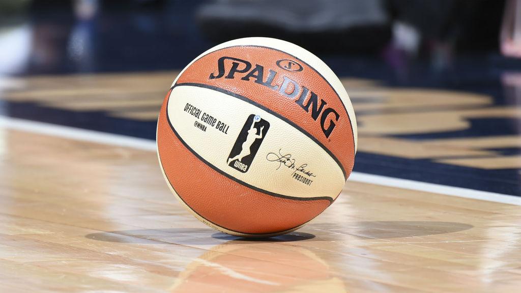 A basketball ball