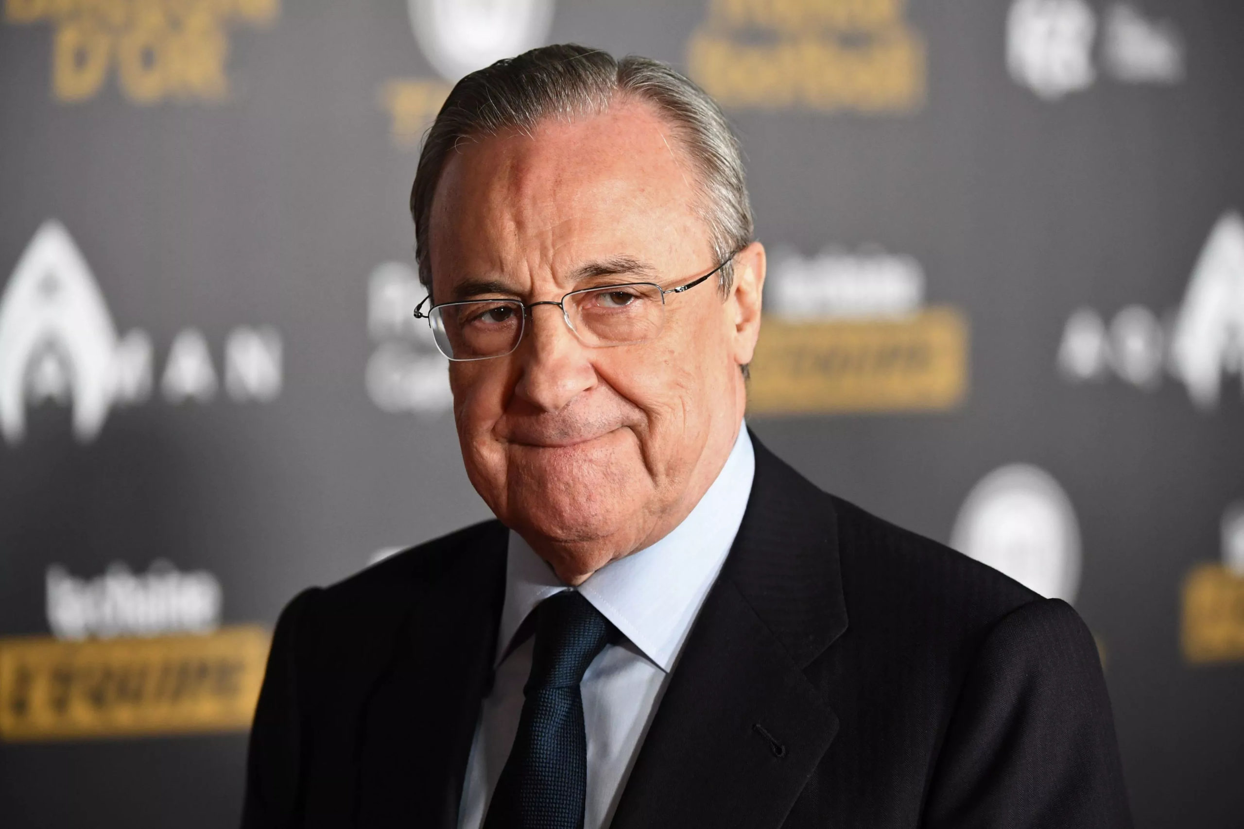 Spanish businessman Florentino Perez is both the president of Real Madrid and the chairman of the European Super League