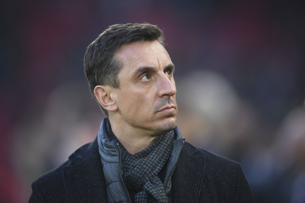 Former Manchester United player, Gary Neville was among the most fervent critics of the European Super League.