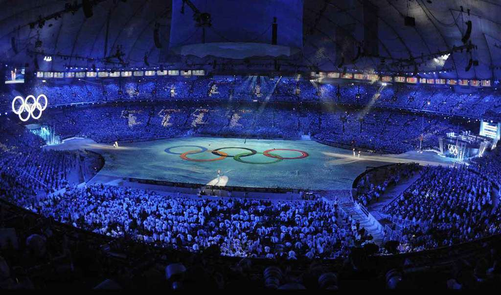 The opening ceremony of the 2020 Summer Olympic Games in Tokyo.
